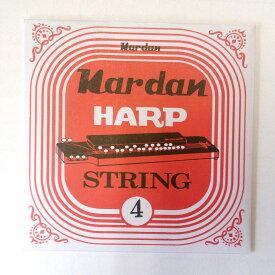 【メール便可】ナルダン 大正琴弦 レギュラー弦 バラ弦 4番線(細巻線)