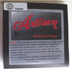 【メール便可】Artisan アーチザン ラップスチールギター用弦 C6セット