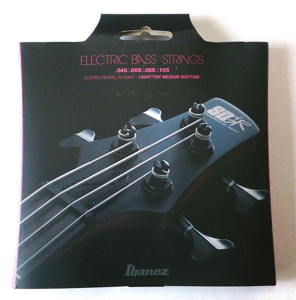【メール便可】Ibanez アイバニーズ エレキ ベース弦 ライトトップミディアムボトム IEBS4C