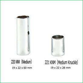 Jim Dunlop[ジムダンロップ] Chromed Steel Slides クロームスチールスライド Medium