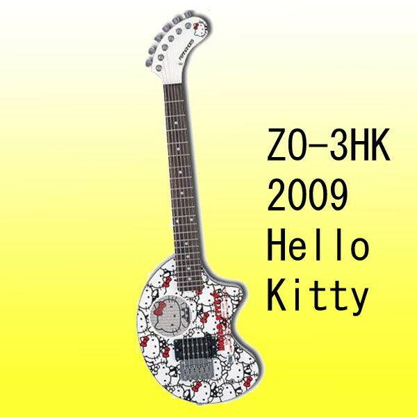 FERNANDES フェルナンデス ギター ZO-3HK 2009  Hello Kittyバージョン