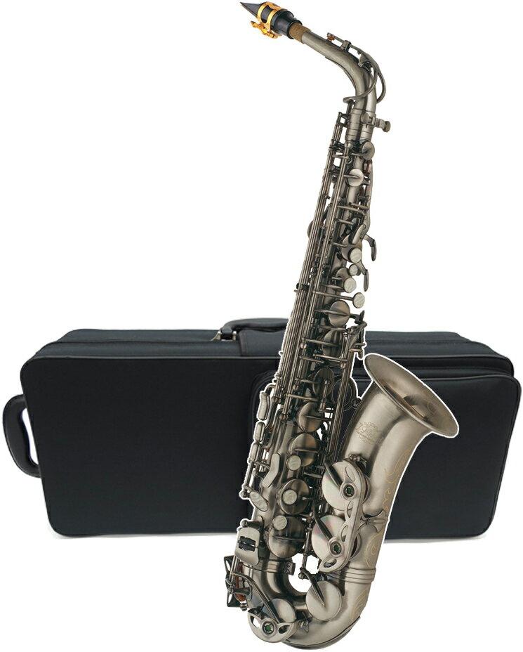 アルトサックス カラー ガンメタリック AL-980GM 新品 アウトレット Jマイケル サックス 楽器 本体 J.Michael alto saxophone 管楽器
