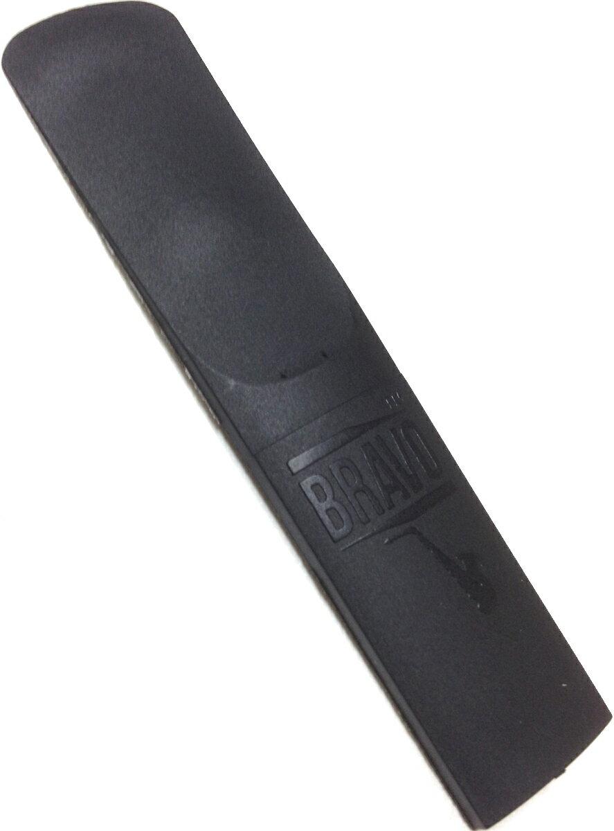 [ メール便 のみ 送料無料 ] アルトサックスリード 3番 他 1枚 葦みたいに 割れない カラー ブラック プラスチック系 素材 長持ち 練習用 おすすめ アルトサックス用リード