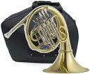 フレンチホルン FH-700 新品 アウトレット B♭ シングルホルン 4ロータリー ホルン 初心者 管楽器 本体 French horn 【 FH700 ou...