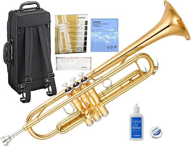 ヤマハ トランペット YTR-4335G2 ゴールドブラスベル 新品 送料無料 楽器 本体 スタンダード B♭調 マウスピース ケース付き 吹きやすい 初心者 吹奏楽 練習用に おすすめ 管楽器 YAMAHA Trumpets YTR4335GII GOLD