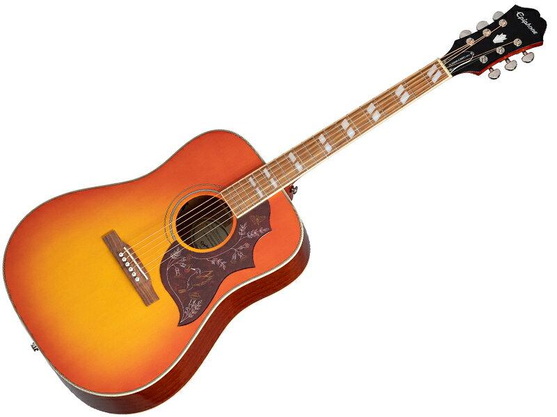 Epiphone ( エピフォン ) Hummingbird PRO 【 by ギブソン ハミングバード 】【ウィンターセール! 】 エレアコ アコースティックギター