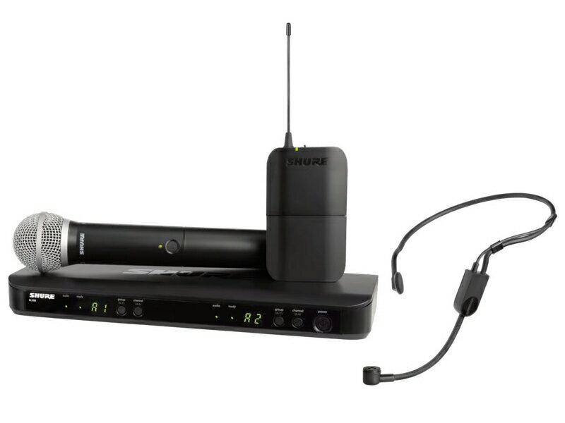 SHURE ( シュア ) BLX1288/P31 ◆ ボーカル・ヘッドセットコンボ ワイヤレスシステム【BLX1288J/P31-JB】【キャッシュバック対象 】 [ ワイヤレスシステム 関連商品 ][ 送料無料 ]