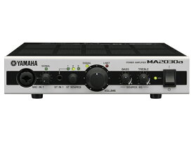 YAMAHA ( ヤマハ ) MA2030a ◆ パワーアンプ ( ハイ・ローインピーダンス接続兼用 ) [MA/PA Series ][ 送料無料 ]