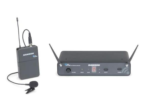 SAMSON ( サムソン ) ESWC88BLM5J-B ◆ ラベリア型(タイピン)ワイヤレスマイク システム for スピーチ プレゼンテーション【SW88LM5】 [ ワイヤレスシステム 関連商品 ][ 送料無料 ]