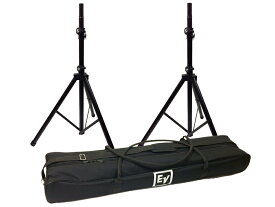 Electro-Voice ( EV エレクトロボイス ) TSP-1 ◆ 35mm 38mm 両対応 スピーカスタンド ( 2本1組 ) 2本収納可能なソフトケース付き [TSP1]