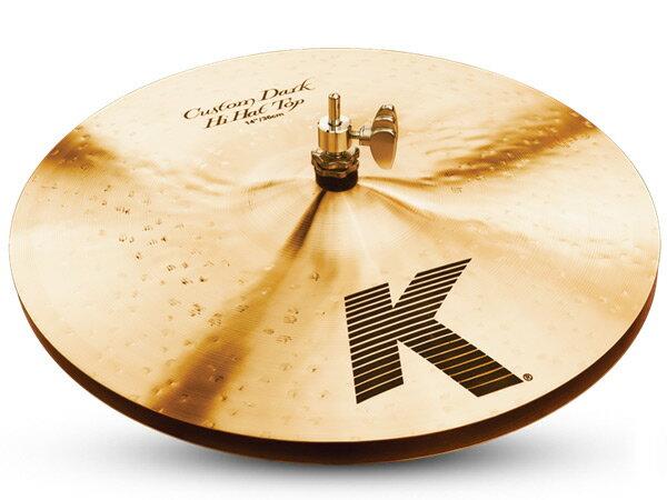 "Zildjian ( ジルジャン ) K CUSTOM Dark Hi-Hats 14""(PAIR) ☆ ダークハイハット【K CUSTOM Dark Hi-Hats 14""(PAIR)】 ☆ Kカスタムダークハイハット"
