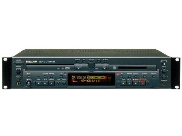 TASCAM ( タスカム ) MD-CD1MK3 ◆ MD デッキ・CDプレーヤー [ 送料無料 ]