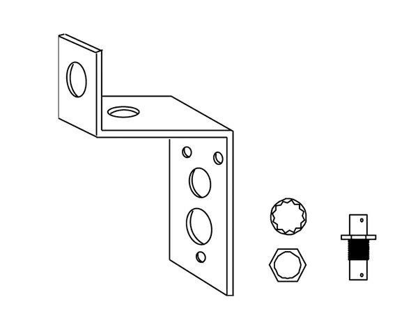 SHURE ( シュア ) UA505 ◆ リモート・マウント・アンテナキット【(H)】 [ ワイヤレスシステム 関連商品 ]