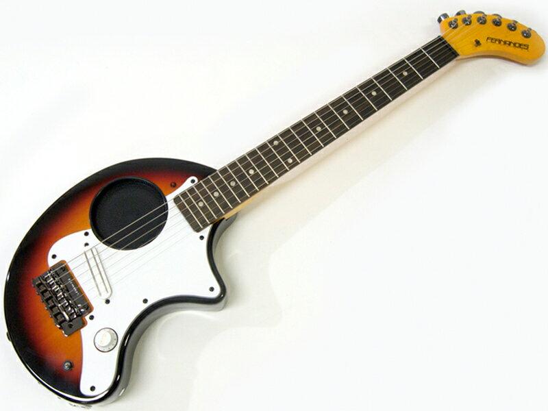 FERNANDES ( フェルナンデス ) ZO-3 ST(3SB)【アンプ内蔵 ミニギター 】【ZO3プレゼントキャンペーン 】