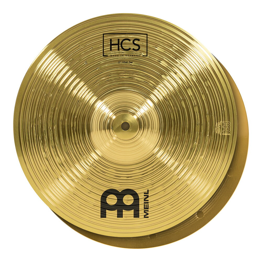 Meinl ( マイネル ) HCS13H(PAIR) ☆ ハイハット【HCS13H(PAIR)】