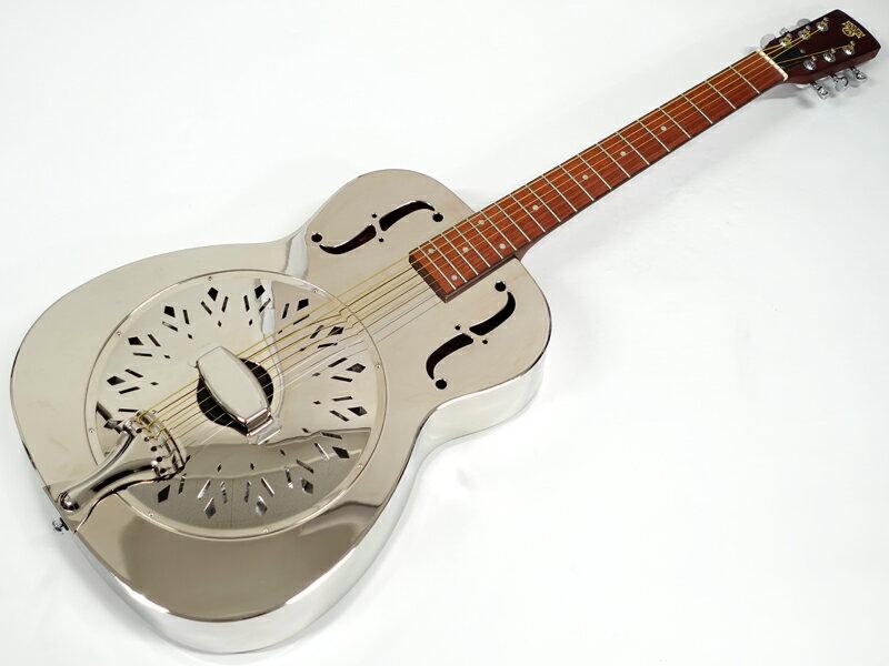 EPIPHONE ( エピフォン ) Dobro Hound Dog M-14 Metal Body【 by ギブソン 】【店長のおすすめ品 】 【 by ギブソン メタルボディ ドブロ リゾネーター 】