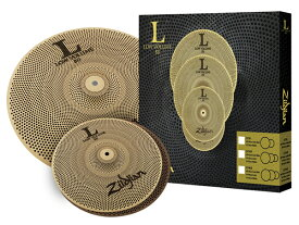 Zildjian ( ジルジャン ) L80 LV38 ローボリュームセット 【13HH/18CR ドラム シンバル】【・キーホルダープレゼント/ID:119108 】
