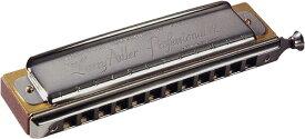 HOHNER ( ホーナー ) ラリーアドラー12 スライド式 クロマチックハーモニカ 12穴 3オクターブ 木製ボディ C調 Larry Adler-12 7534/48 楽器 送料無料