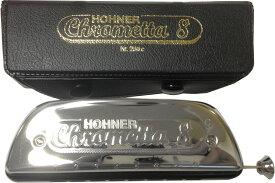 HOHNER ( ホーナー ) クロメッタ8 クロマチックハーモニカ 8穴 C調 スライド式 ハーモニカ 250/32 Chrometta 8 楽器 Chromatic Harmonica  北海道 沖縄 離島不可