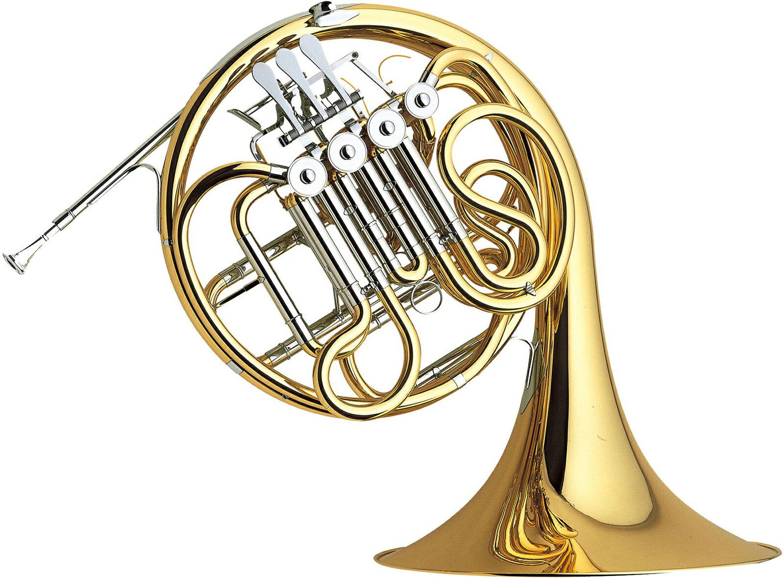 YAMAHA ( ヤマハ ) F/B♭ フルダブルホルン YHR-567 フレンチホルン 新品 4ロータリーバルブ ホルン 一体式 本体 マウスピース HR-32C4 初心者 日本製 管楽器 送料無料