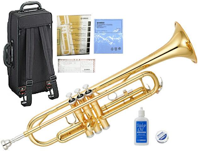 YAMAHA ( ヤマハ ) YTR-3335 トランペット リバースタイプ ゴールド 新品 1本支柱 管楽器 B♭ 管体 リバース管 本体 マウスピース ケース YTR3335 正規品 送料無料