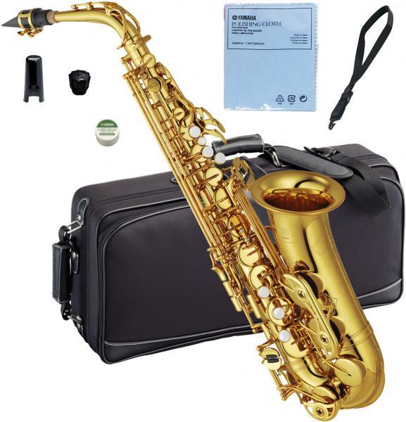 YAMAHA ( ヤマハ ) 送料無料 アルトサックス YAS-62 ゴールド 新品 日本製 サックス 管体 E♭ 初心者 スタンダード 管楽器 本体 アルトサクソフォン YAS62 gold YAS-62-04