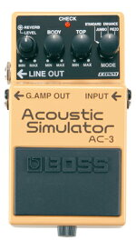 BOSS ( ボス ) AC-3 【アコースティック・シミュレーター WO】