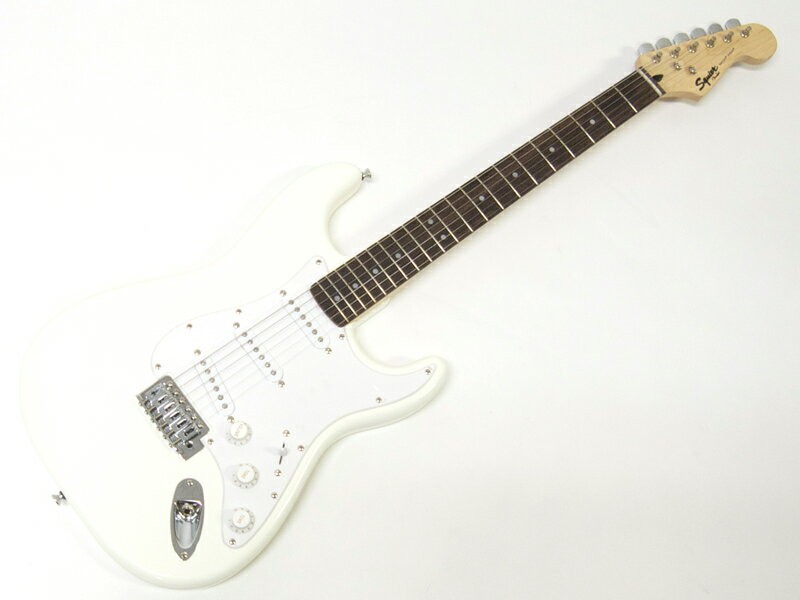 SQUIER ( スクワイヤー ) Bullet Strat with Tremolo (AWT) 【ストラトキャスター by フェンダー】【370001580】 エレキギター byフェンダー