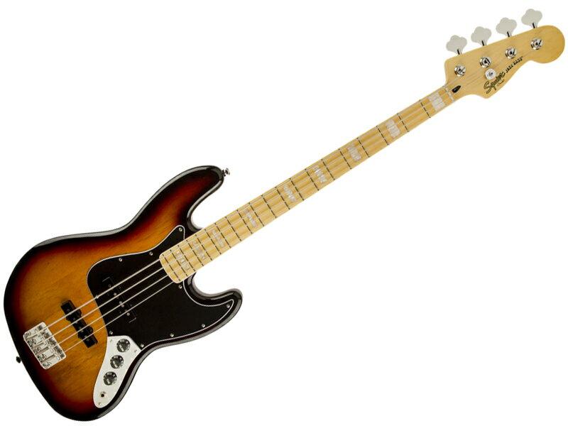 SQUIER ( スクワイヤー ) Vintage Modified Jazz Bass 77s (3TS)【ジャズベース by フェンダー】【0307702500】【C3316 モノグラム・ストラップ プレゼント 】