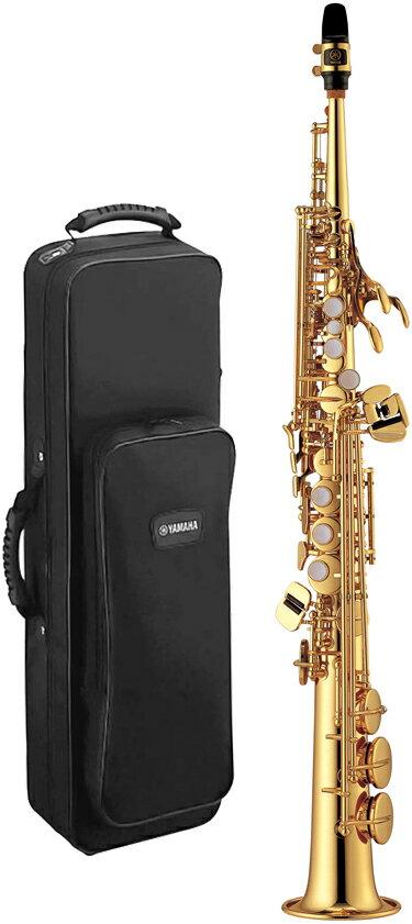 YAMAHA ( ヤマハ ) 【予約】 YSS-475 ソプラノサクソフォン 新品 日本製 管楽器 サックス 本体 ストレート ネック 一体型 ソプラノサックス 管体 ゴールド 楽器 送料無料