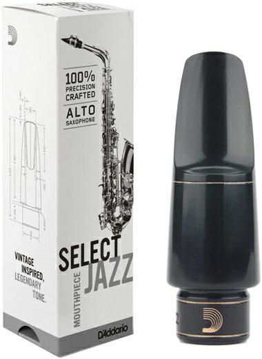 ジャズセレクト アルトサックス マウスピース リコ レゼルヴ 管楽器 サックス RICO RESERVE Alto saxophone D5M D6M D7M D8M 送料無料