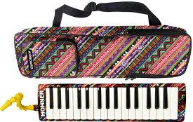 HOHNER ( ホーナー ) メロディカ エアボード32 鍵盤ハーモニカ 32鍵 ホーナー版 ピアニカ HOHNER AirBoard-32 楽器 本体 ケース 立奏用 吹き口付き