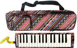 HOHNER ( ホーナー ) メロディカ エアボード32 鍵盤ハーモニカ 32鍵 Airboard 37 楽器 本体 ケース 立奏用 吹き口付き 北海道 沖縄 離島不可