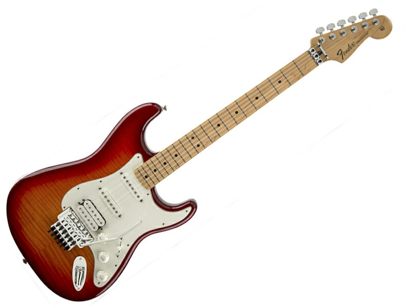 FENDER Standard Stratocaster Plus Top with Floyd Rose (ACB/M) 【スタンダード・ストラト Mex 】【1144712531】 エレキギター