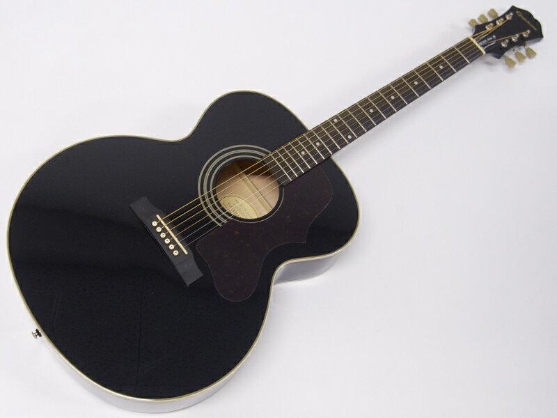 EPIPHONE ( エピフォン ) EJ-200 Artist(BK) 【数量限定特価 】【by ギブソン アコースティックギター 】【お買い得プライス! 】 ジャンボ タイプ
