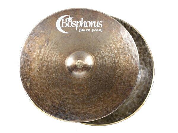 "Bosphorus ( ボスフォラス ) Black Pearl Series HI-HATS 13"" (PAIIR) ☆ ボスフォラス ブラックパールシリーズ ハイハット"