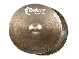 "Bosphorus ( ボスフォラス ) Black Pearl Series HI-HATS 15"" (PAIIR) ☆ ボスフォラス ブラックパールシリーズ ハイハット"