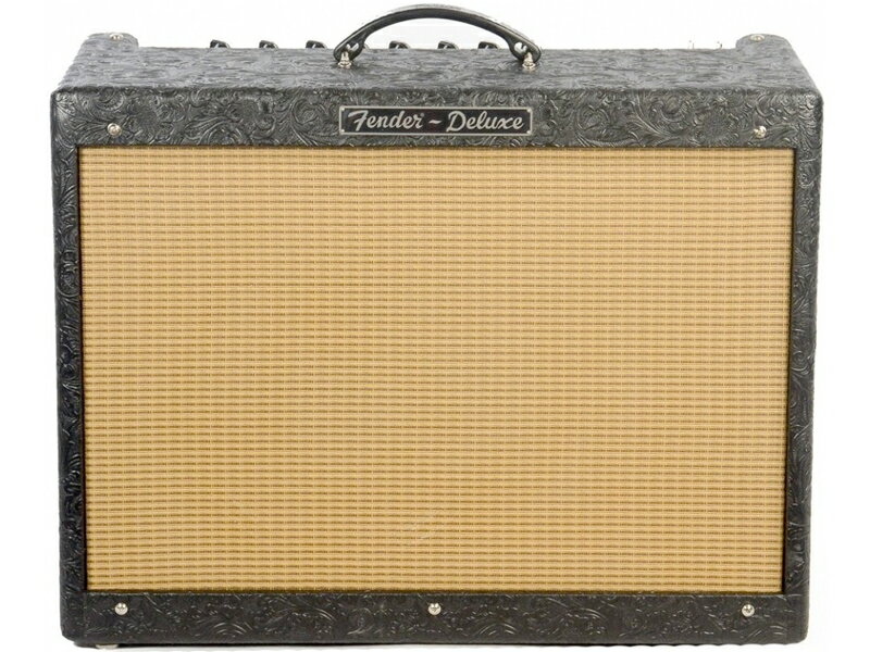 Fender USA ( フェンダーUSA ) Hot Rod Deluxe Black Western Limited【 特別限定モデル 真空管アップ 特価品 】【春特価! 】 フルチューブ ホットロッド