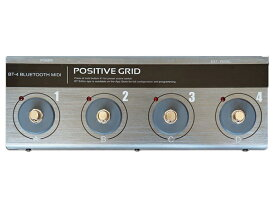 POSITIVE GRID ( ポジティブグリッド ) BT-4 BLUETOOTH MIDI PEDAL【PGBT4】 ◆【送料無料】【DTM】【DAW】