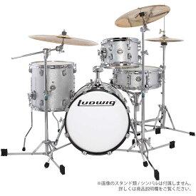 LUDWIG ( ラディック ) LC179X 028 WHITE SPARKLE【ブレイクビーツ 小口径 ドラムセット】 REAK BEAT
