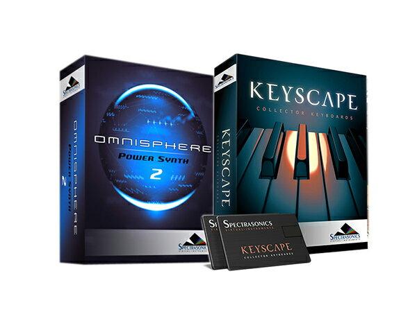 Spectrasonics Keyscape × Omnisphere 2 (USB Drive) セット【KEYOM2USBSET】【本数限定特価 】 ◆【送料無料】【DAW】【DTM】