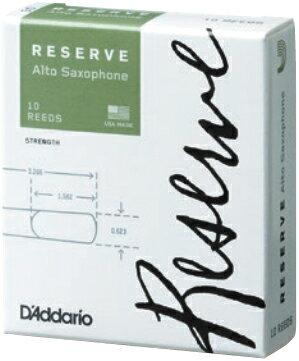 [ メール便 のみ 送料無料 ] レゼルヴ アルトサックス リード 10枚入り セット RESERVE reed 2番 3番 4番 2.5 3.5 3+ 4.5 LDADREASC3 DJR1030 LDADREASC3.5 DJR10305 他