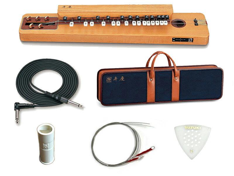 SUZUKI ( スズキ ) 弁慶 (べんけい) 大正琴 電気大正琴 箱型 和楽器【エレアコタイプ/5絃】