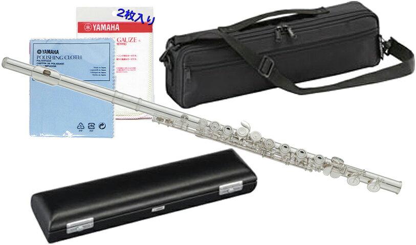 YAMAHA ( ヤマハ ) YFL-212 フルート Eメカニズム付き 新品 銀メッキ カバードキイ オフセット CY 頭部管 主管 足部管 管楽器 standard flute 送料無料