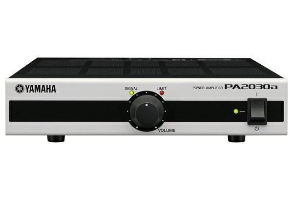YAMAHA ( ヤマハ ) PA2030a ◆ パワーアンプ ・MA2030aの拡張にも対応 [MA/PA Series ][ 送料無料 ]