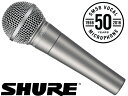 SHURE ( シュア ) SM58-50A [ OUTLET特価品 ]for ボーカル ダイナミック型マイクロホン [ 送料無料 ]