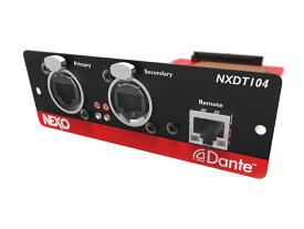 NEXO ( ネキソ ) NXDT104 Mk2 ◆ NXAMP拡張用 Danteネットワークカード オプションカード [ NXAMP series option ][ 送料無料 ]