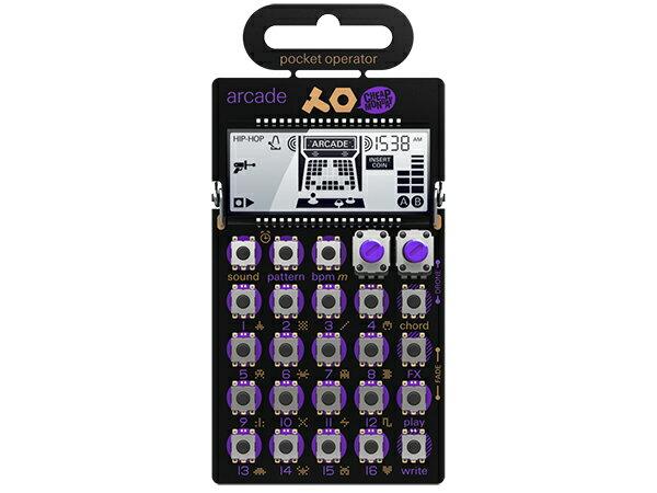 Teenage Engineering ( ティーンエイジ エンジニアリング ) PO-20 arcade ◆ pocket operator ◆【ガジェット シンセサイザー】【リズムマシン】【DTM】