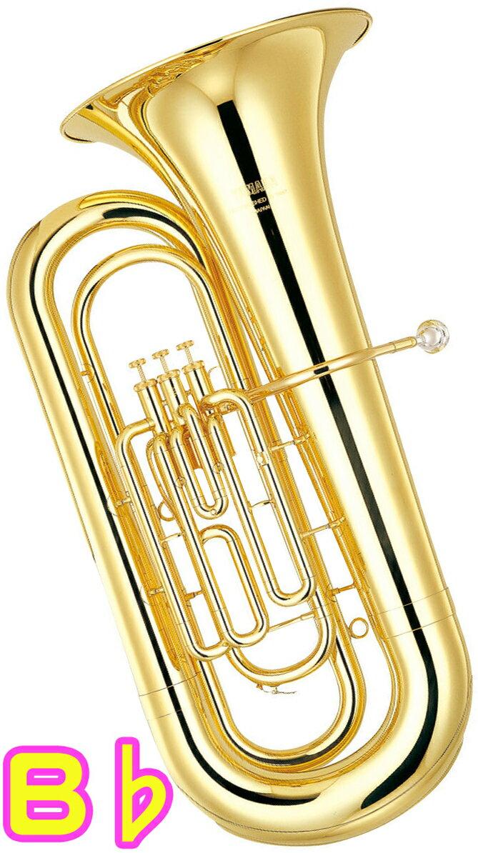 YAMAHA ( ヤマハ ) YBB-201II 新品 B♭ チューバ 3ピストン 日本製 イエローブラス ゴールド 管体 トップアクション ピストンチューバ 管楽器 バス 本体 YBB-201-2