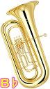YAMAHA ( ヤマハ ) YBB-201II 新品 B♭ チューバ 3ピストン 日本製 管体 トップアクション ピストンチューバ 管楽器 …